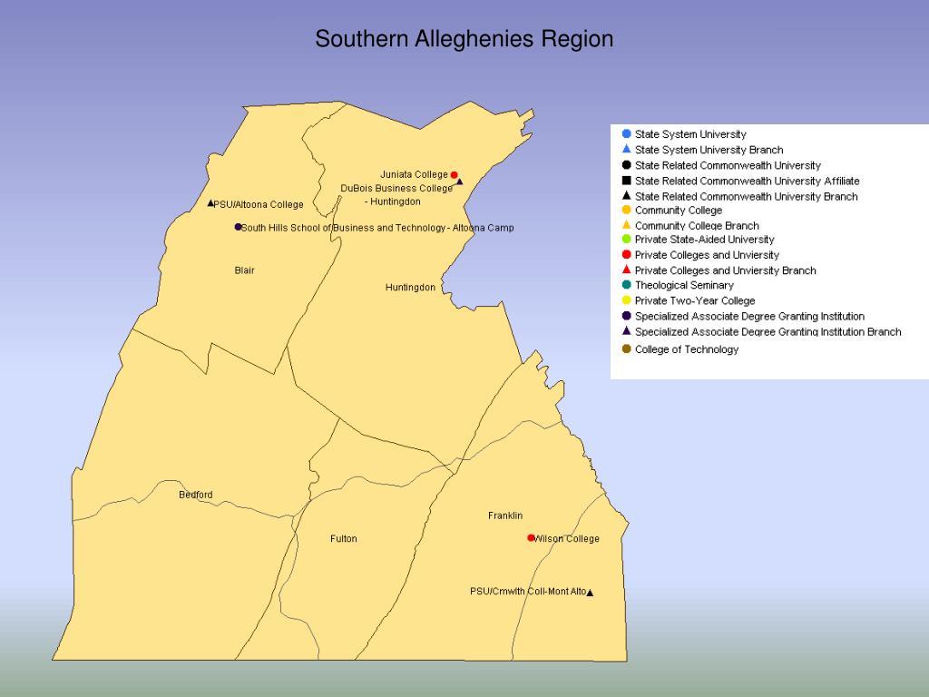 Southern Alleghenies Region
