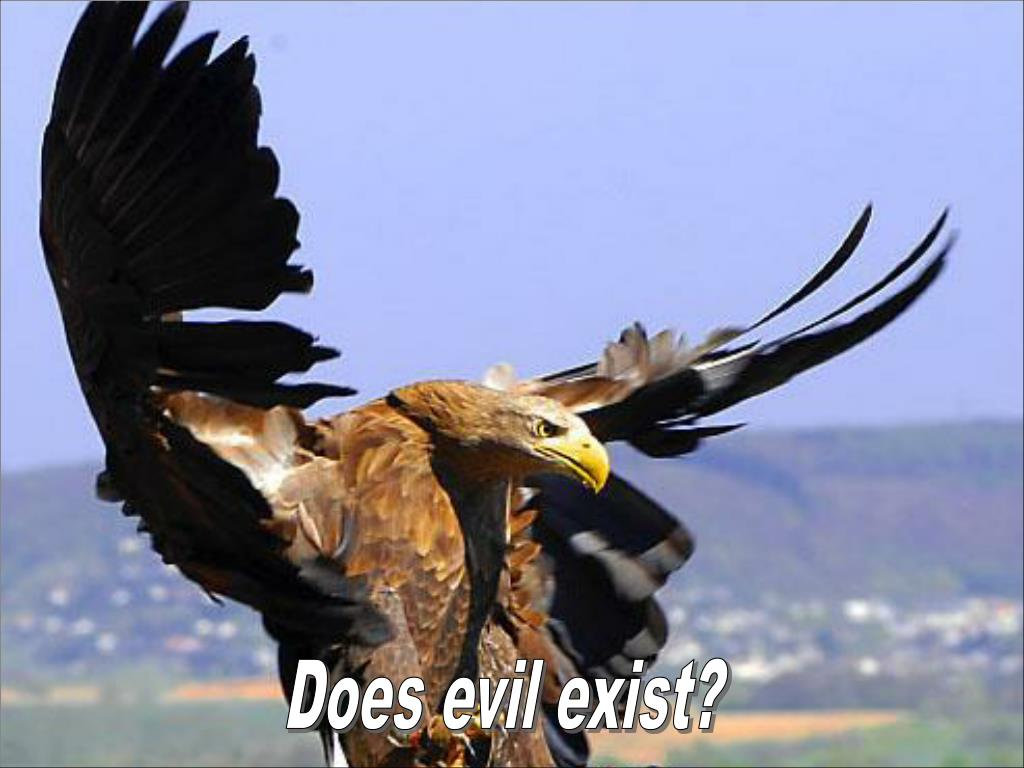 Does evil exist?