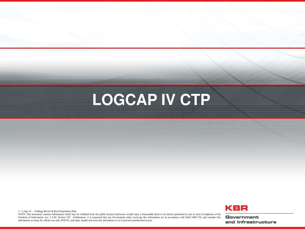 LOGCAP IV CTP