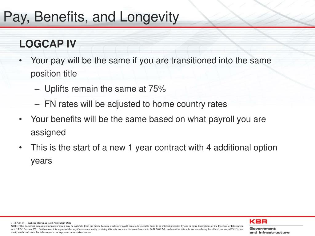Pay, Benefits, and Longevity