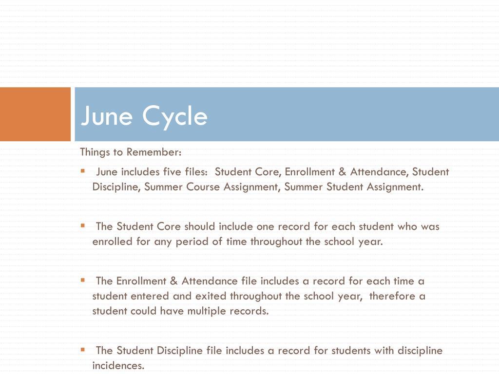 June Cycle