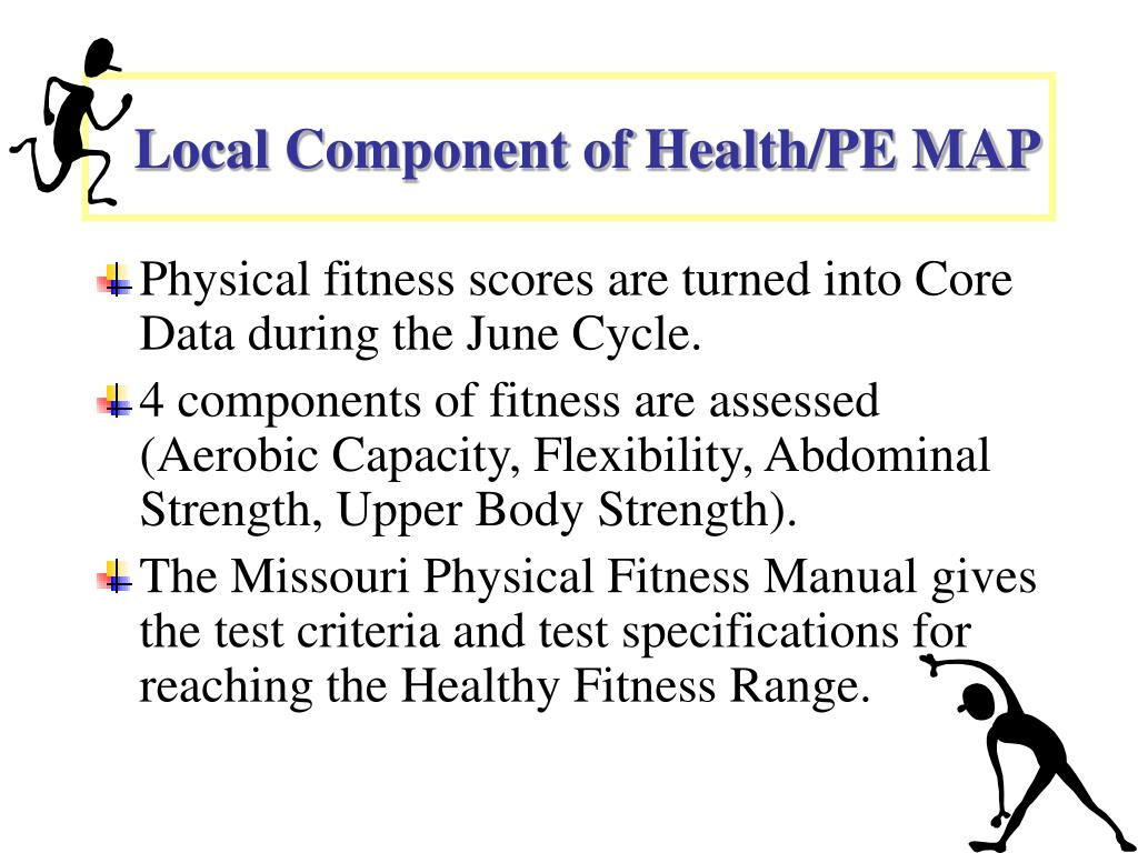 Local Component of Health/PE MAP