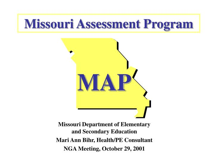 Missouri assessment program