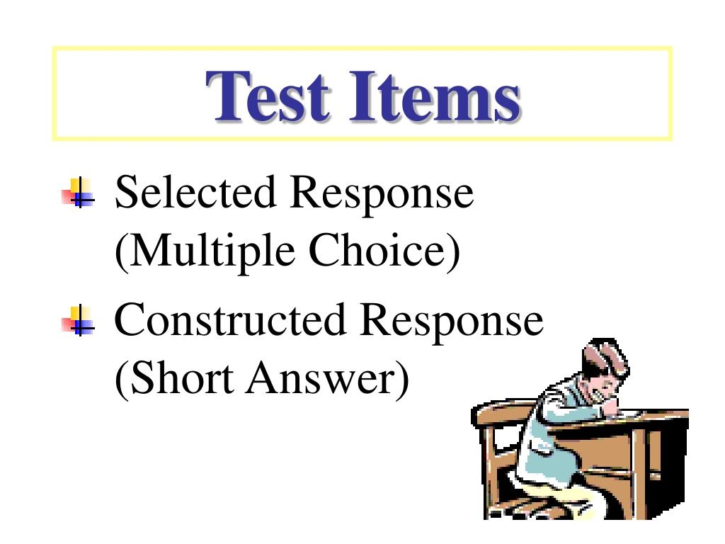 Test Items