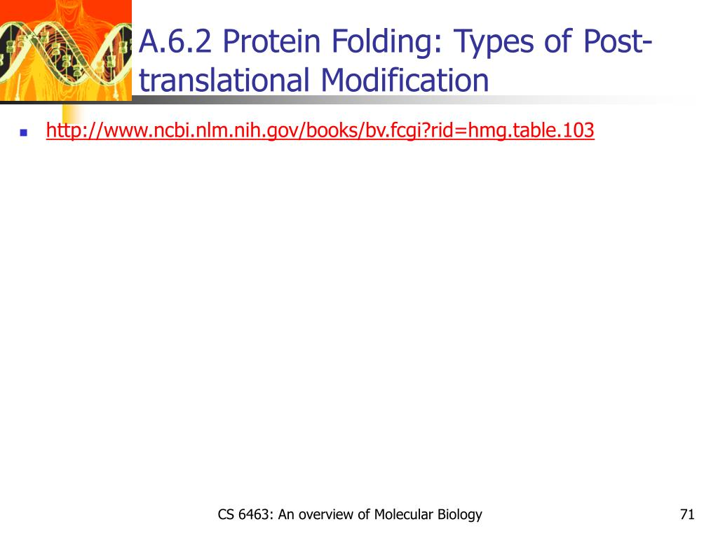 A.6.2 Protein Folding: Types of