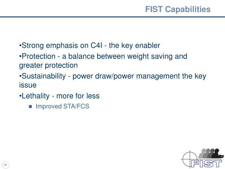 FIST Capabilities