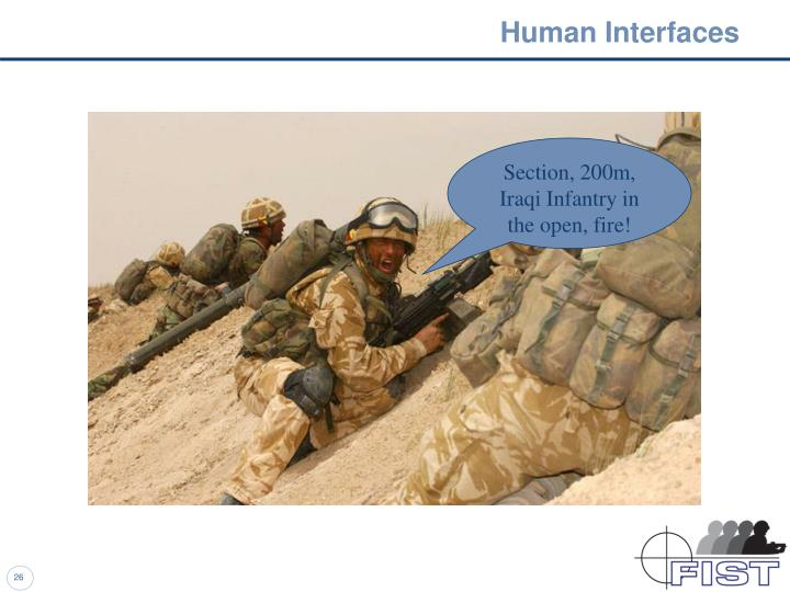 Human Interfaces