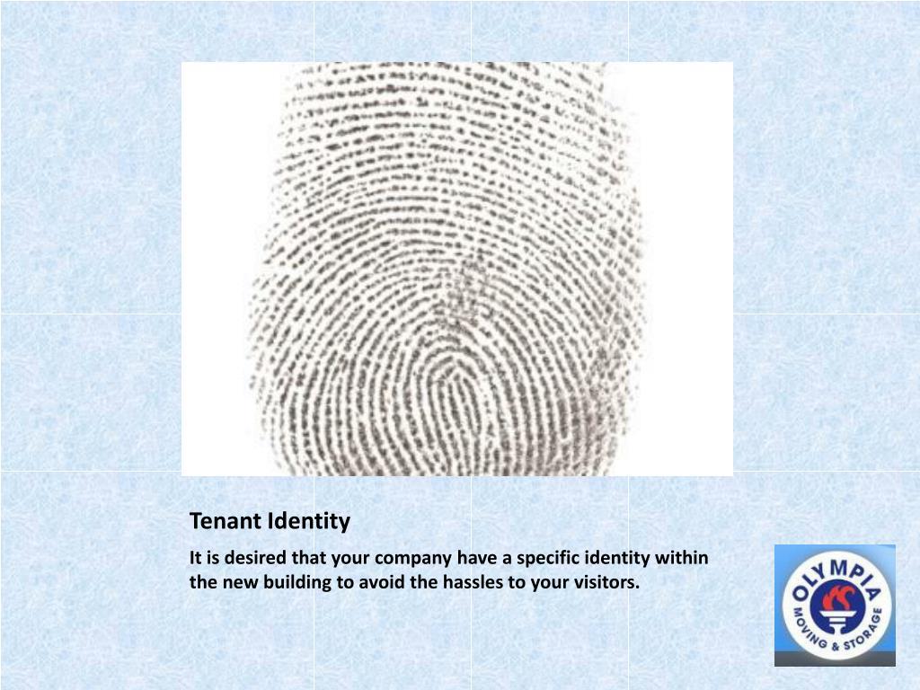 Tenant Identity