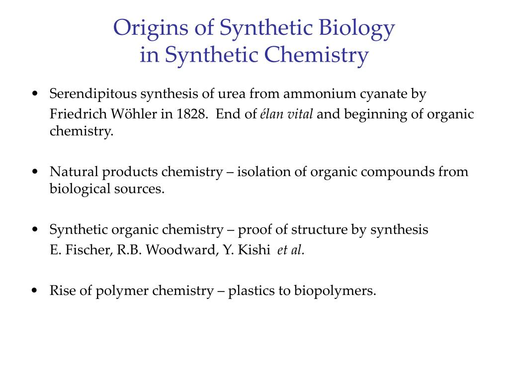 Origins of Synthetic Biology