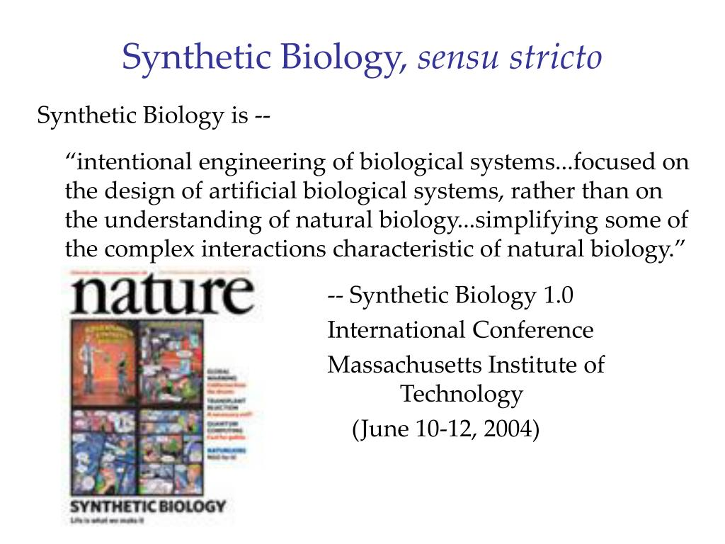Synthetic Biology,