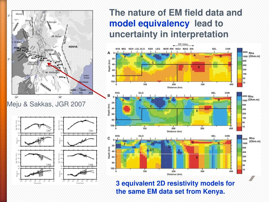 The nature of EM field data and