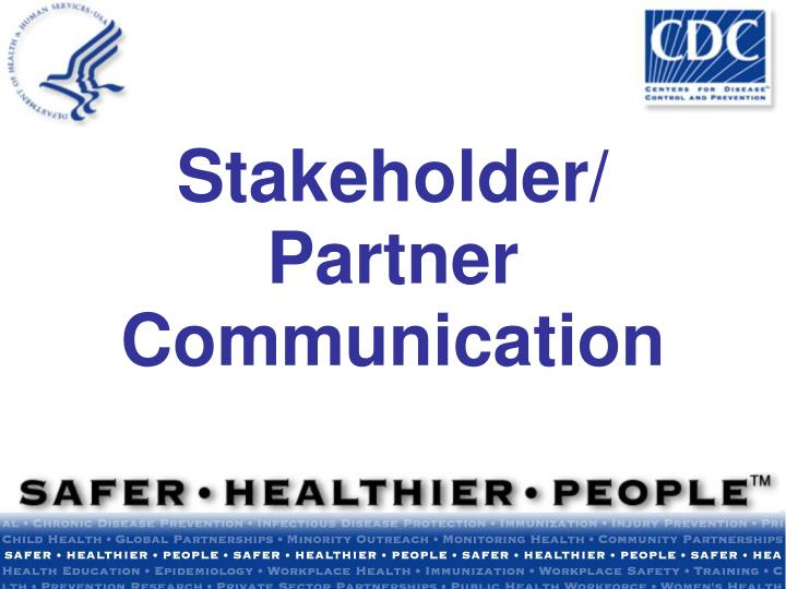 Stakeholder partner communication l.jpg