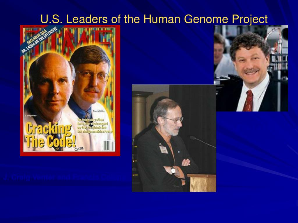 U.S. Leaders of the Human Genome Project