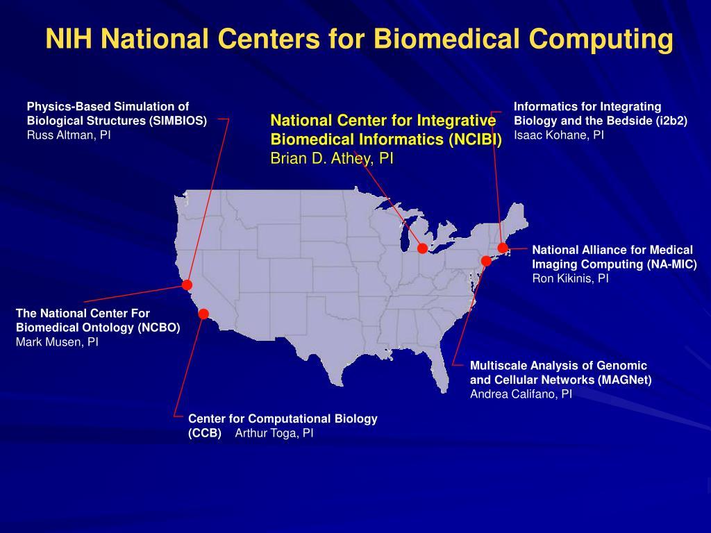 NIH National Centers for Biomedical Computing