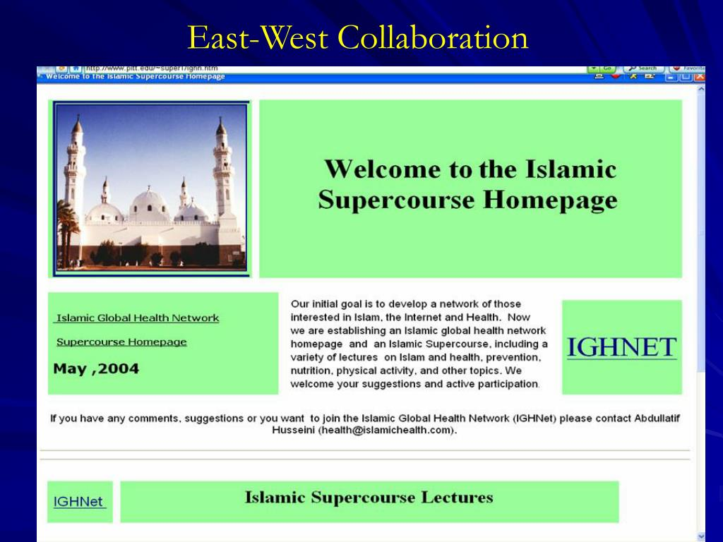 East-West Collaboration