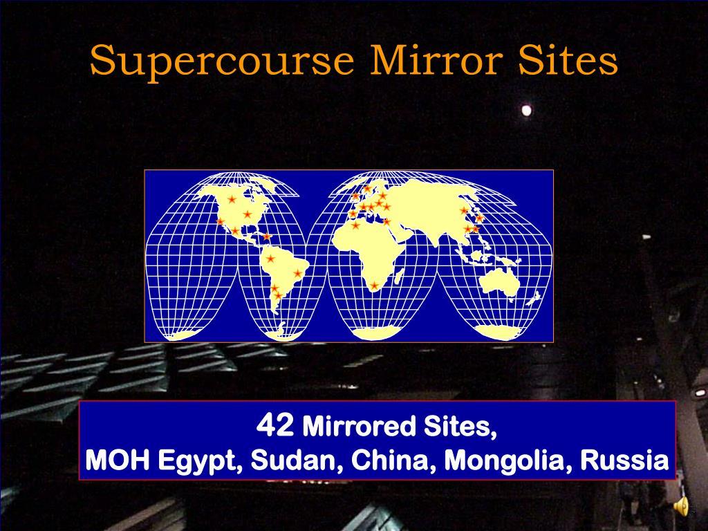 Supercourse Mirror Sites