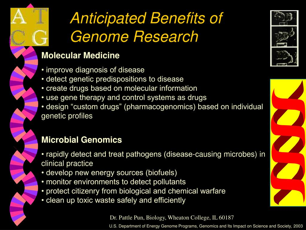 Anticipated Benefits of Genome Research