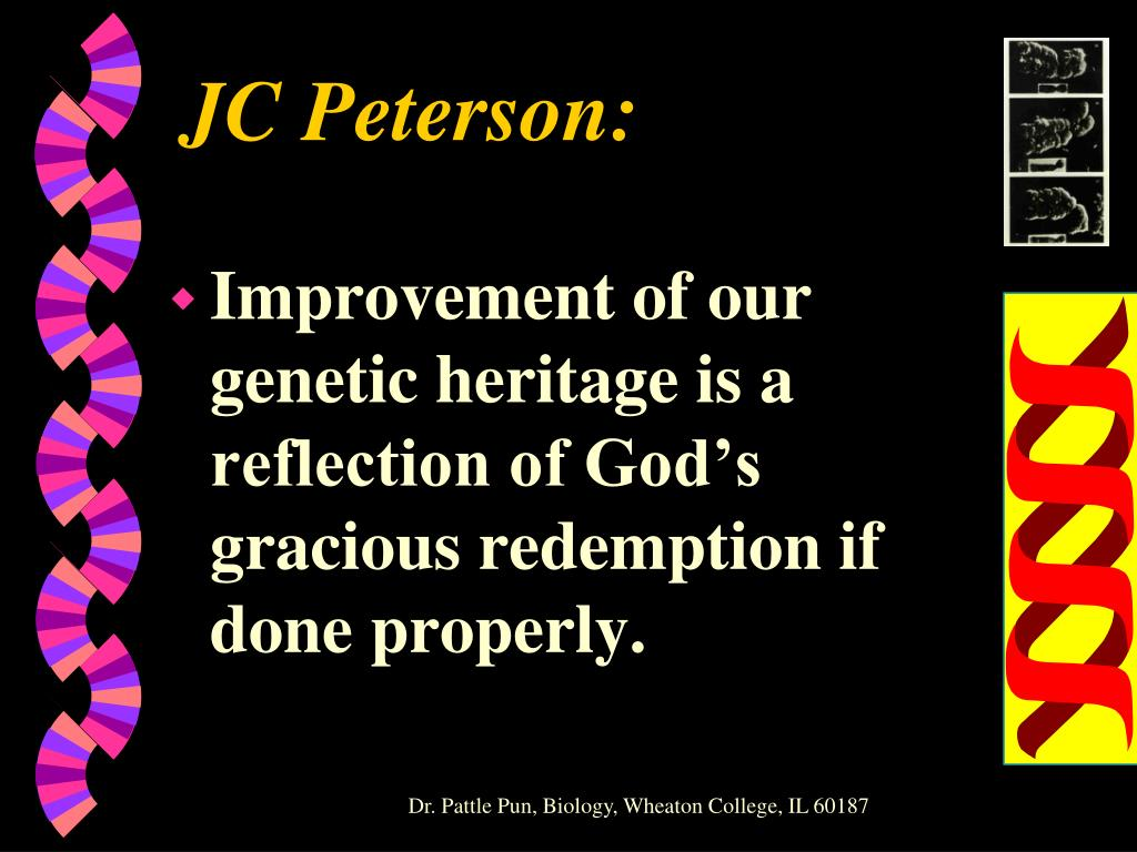 JC Peterson: