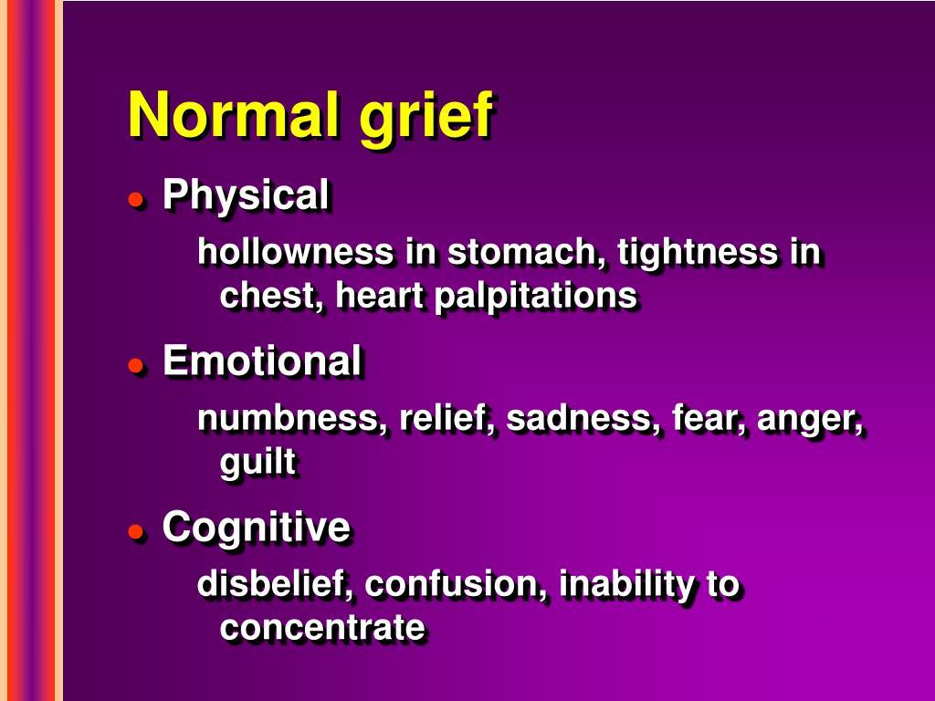 Normal grief
