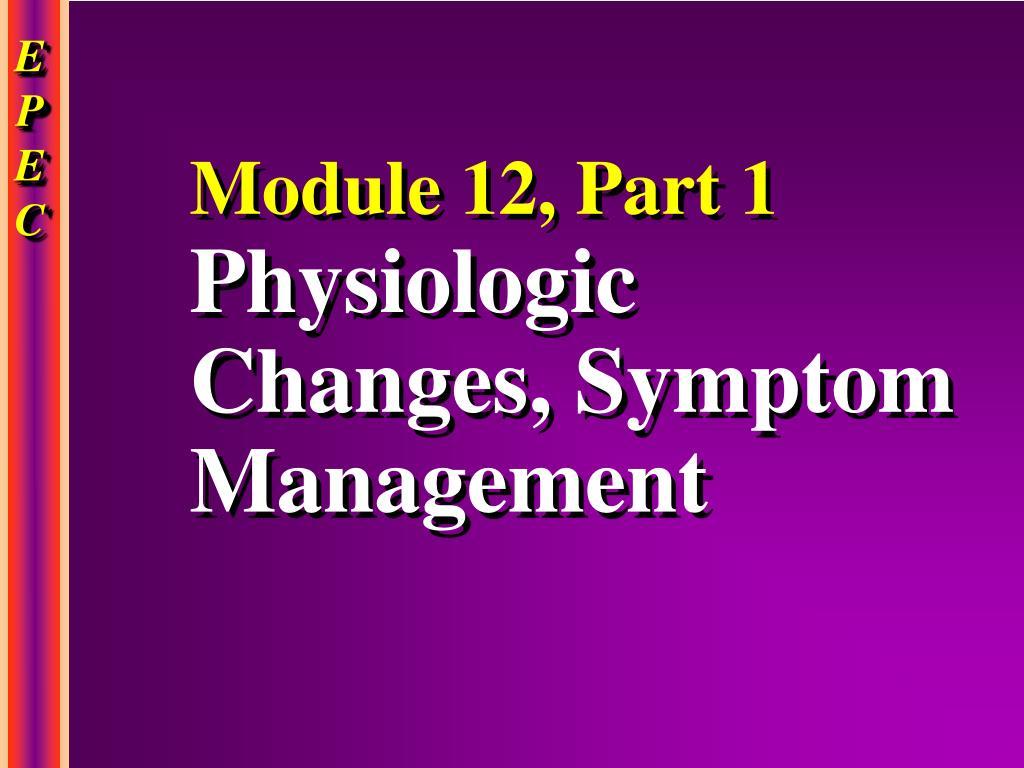 Module 12, Part 1
