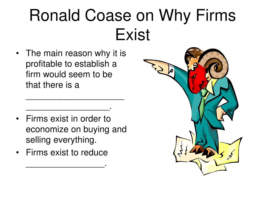 Ronald Coase on Why Firms Exist