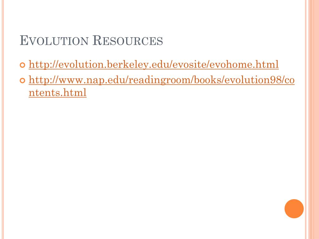 Evolution Resources