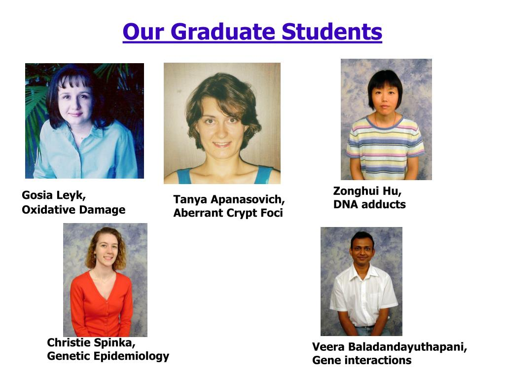 Our Graduate Students