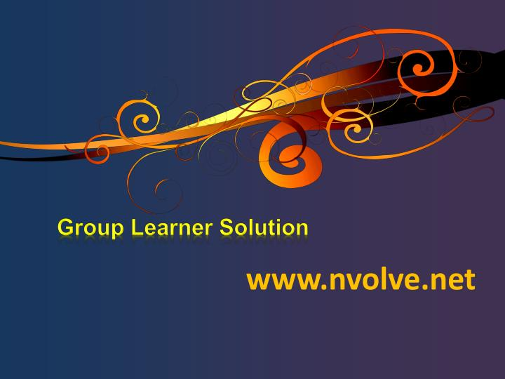 Group learner solution