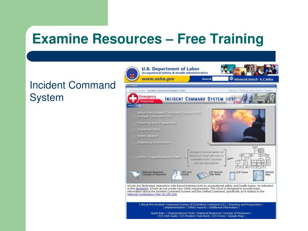 Examine Resources – Free Training