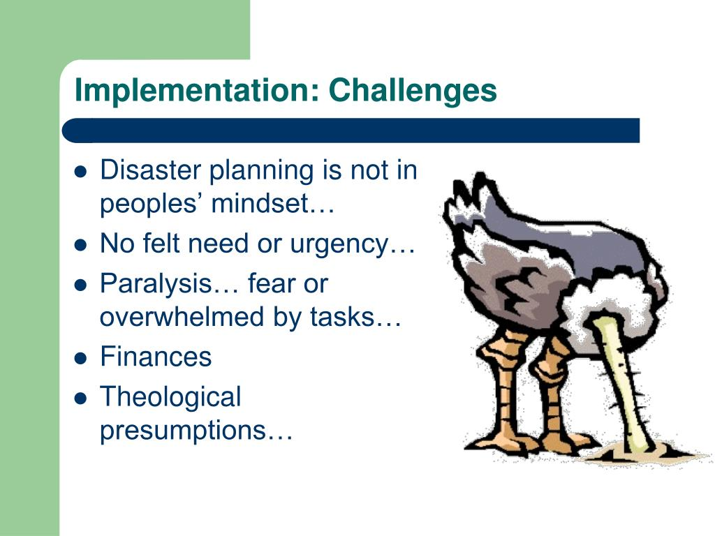 Implementation: Challenges