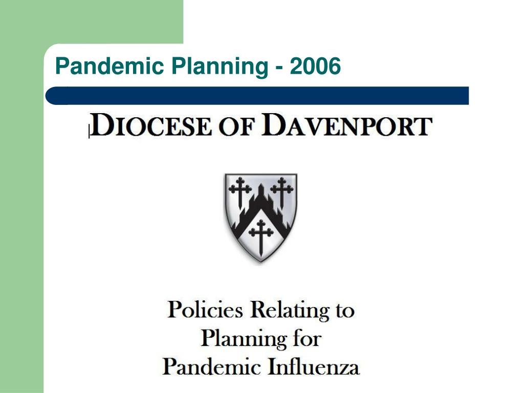 Pandemic Planning - 2006