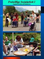 freiwillige sozialarbeit 1 umgehen arbeiten mit behinderten