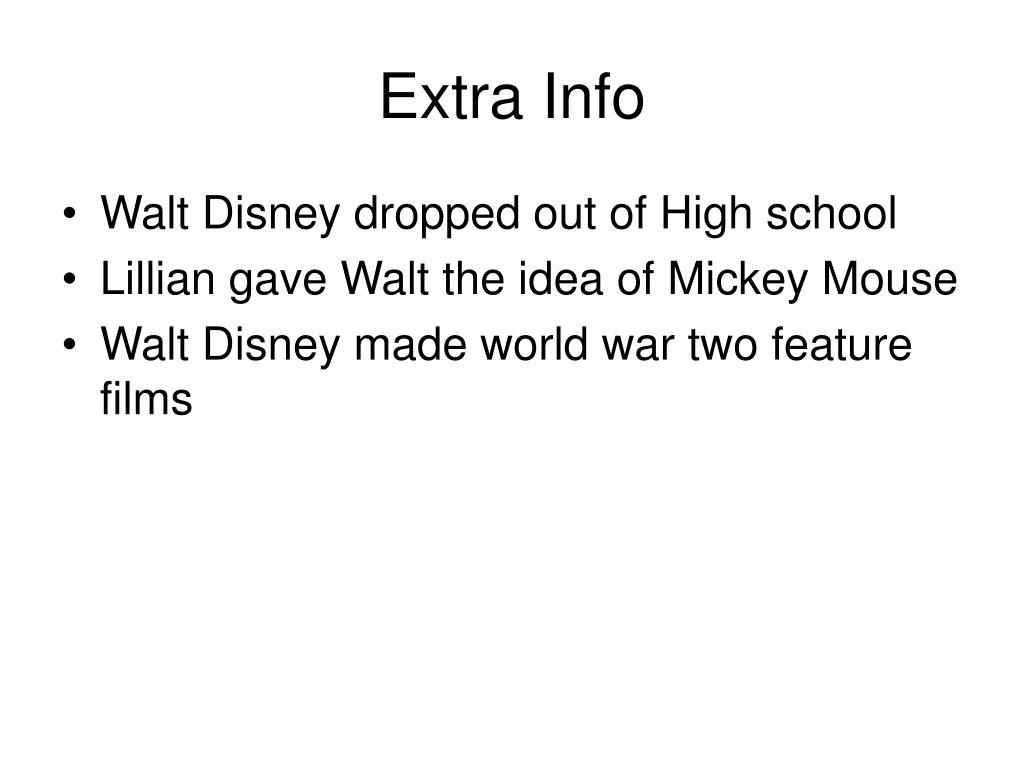 Extra Info