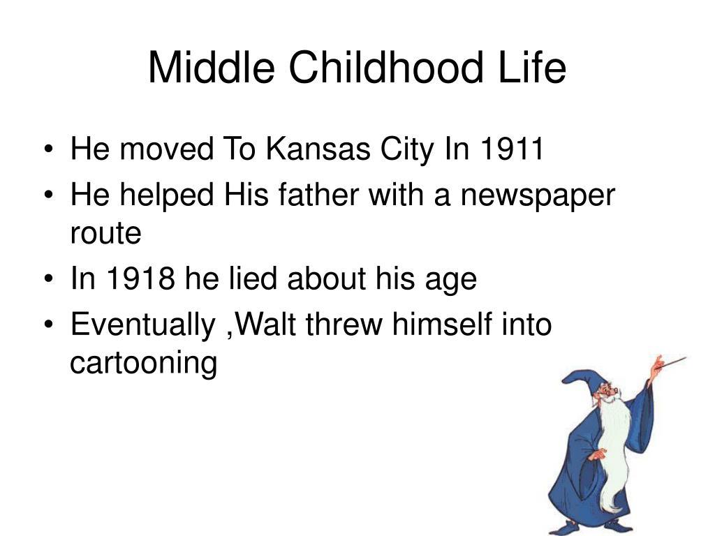 Middle Childhood Life