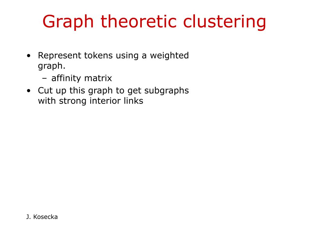 Represent tokens using a weighted graph.
