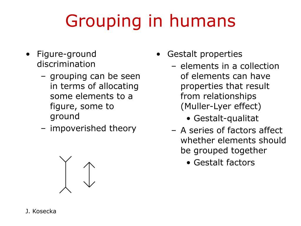 Figure-ground discrimination