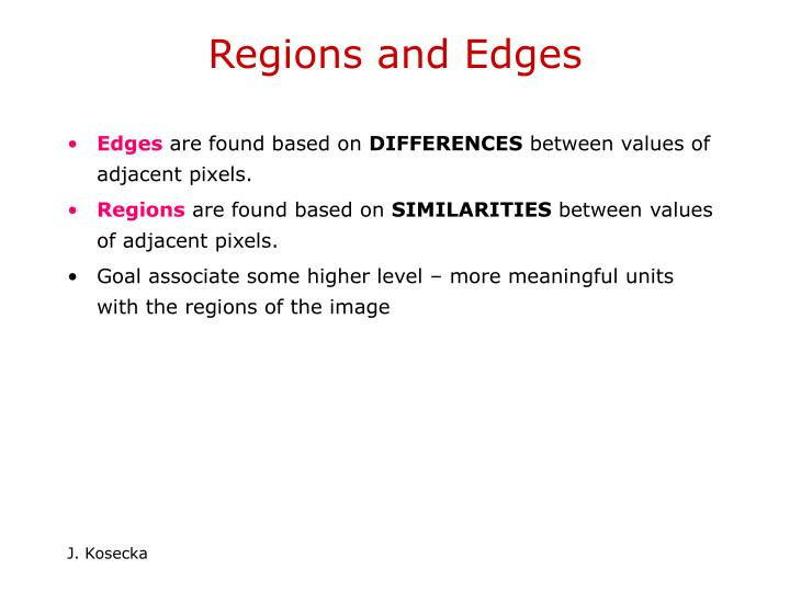 Regions and edges3