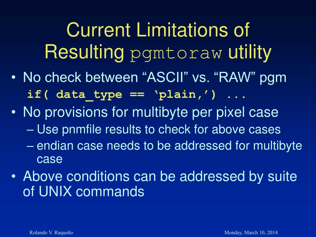 Current Limitations of Resulting