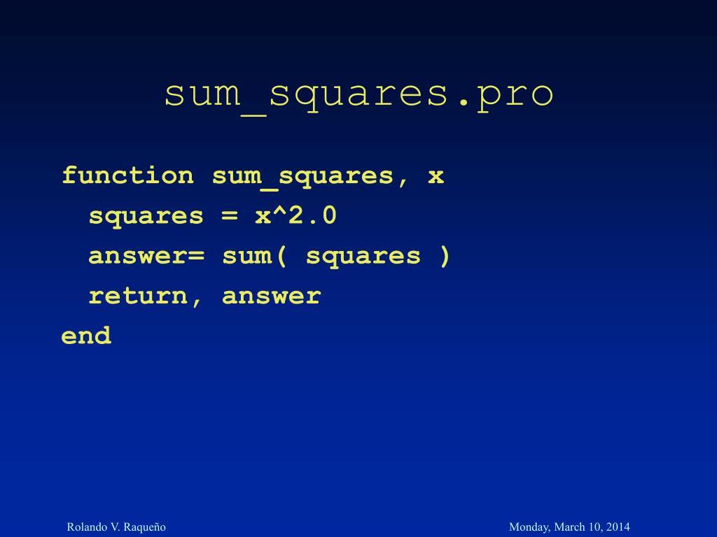 sum_squares.pro