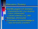 education training