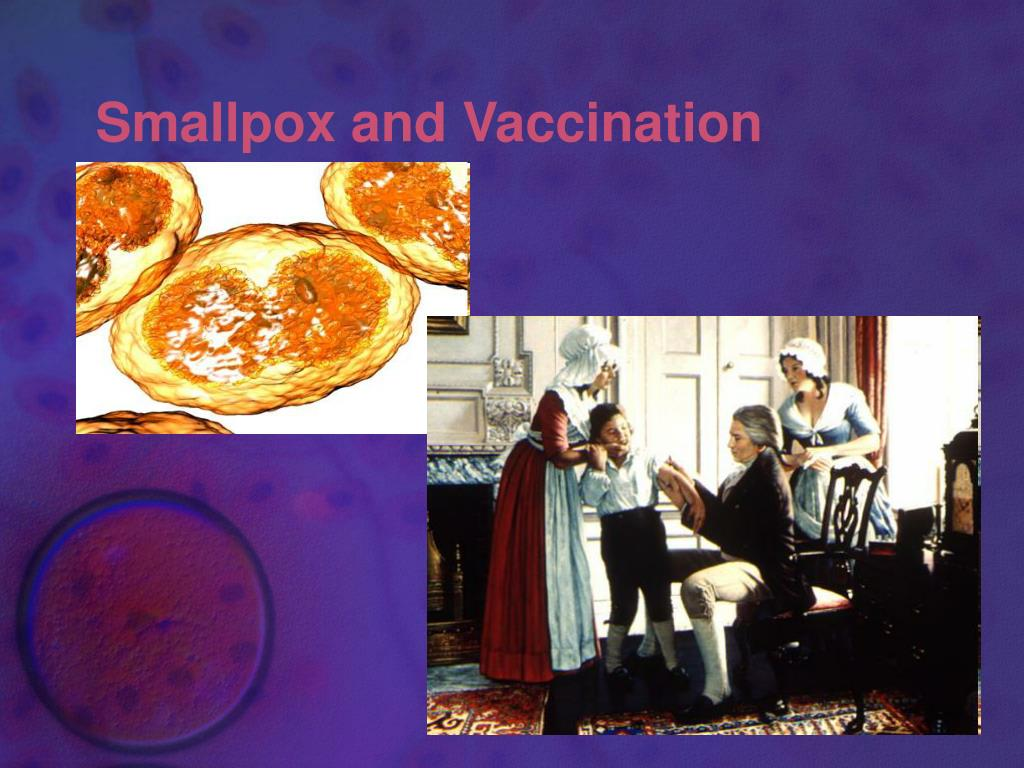Smallpox and Vaccination