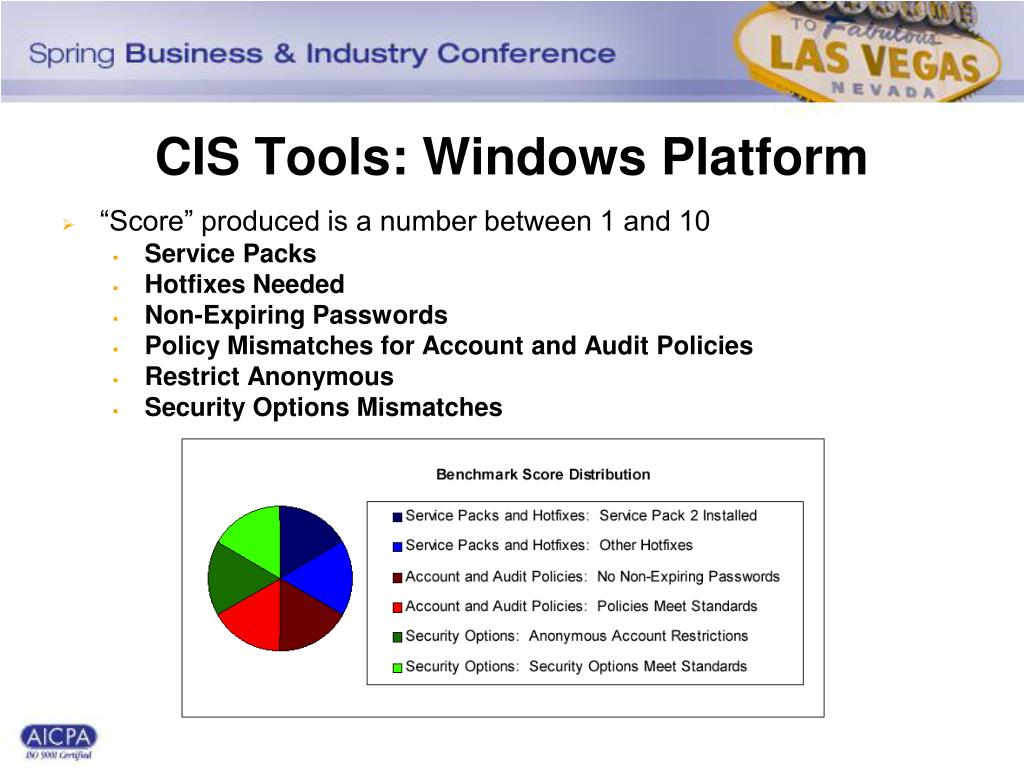 CIS Tools: Windows Platform