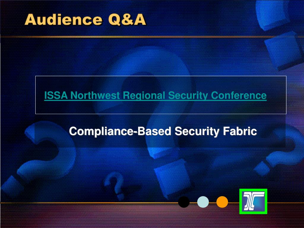 ISSA Northwest Regional Security Conference