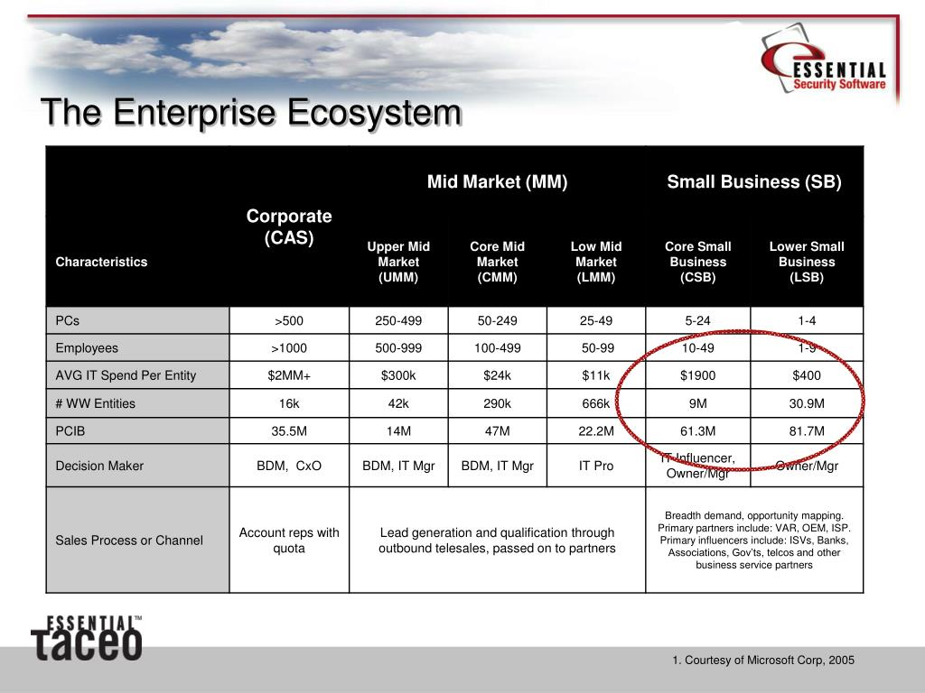 The Enterprise Ecosystem