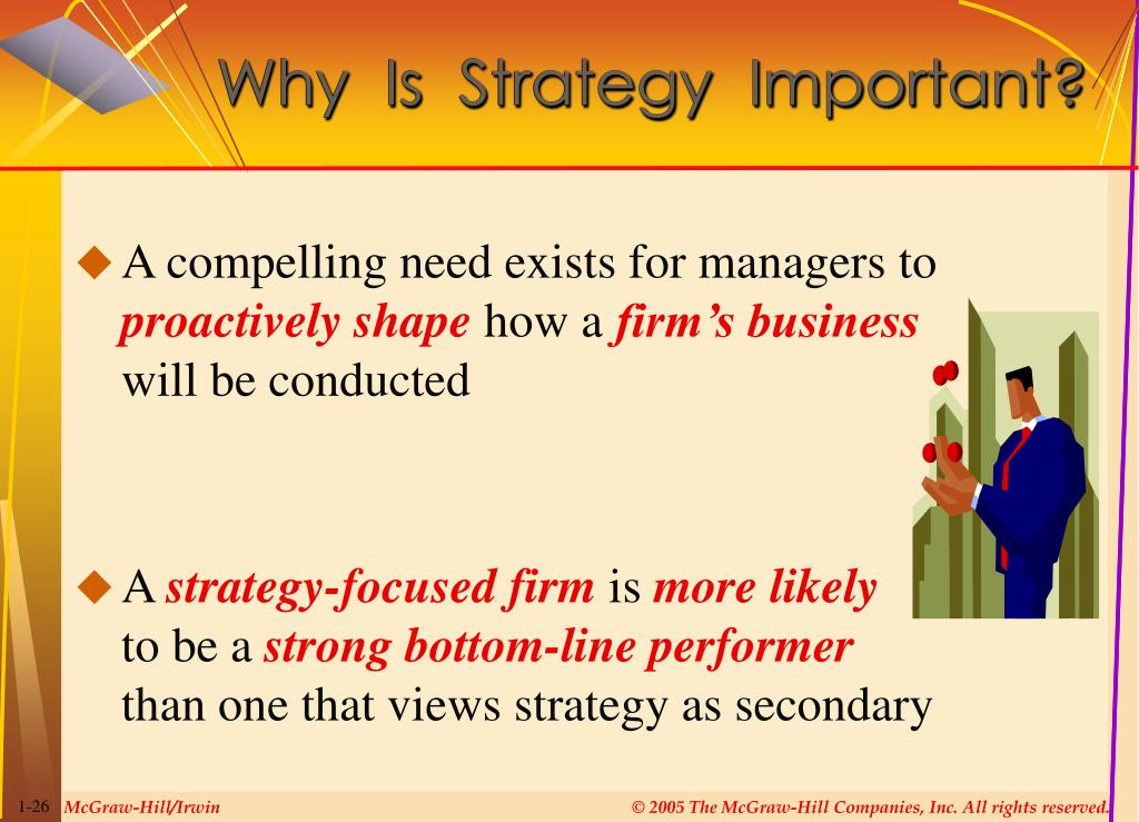 why strategy is important to an