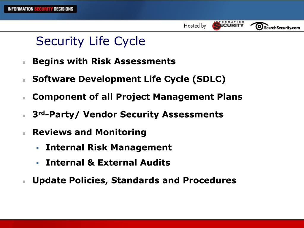 Security Life Cycle