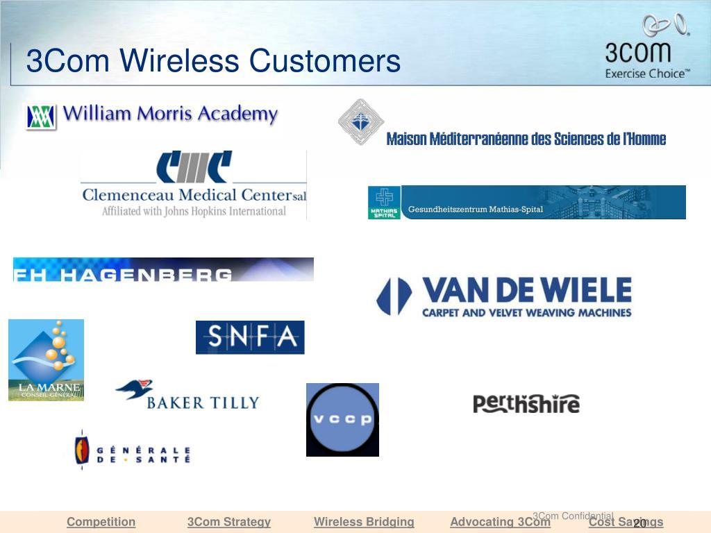 3Com Wireless Customers