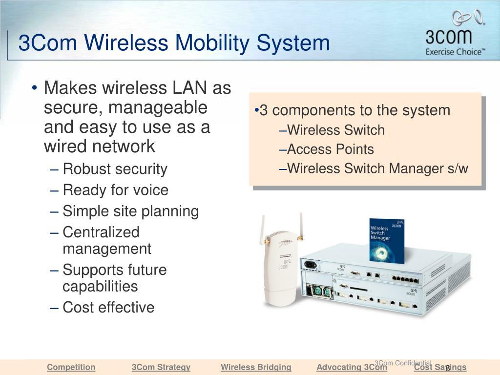 3Com Wireless Mobility System