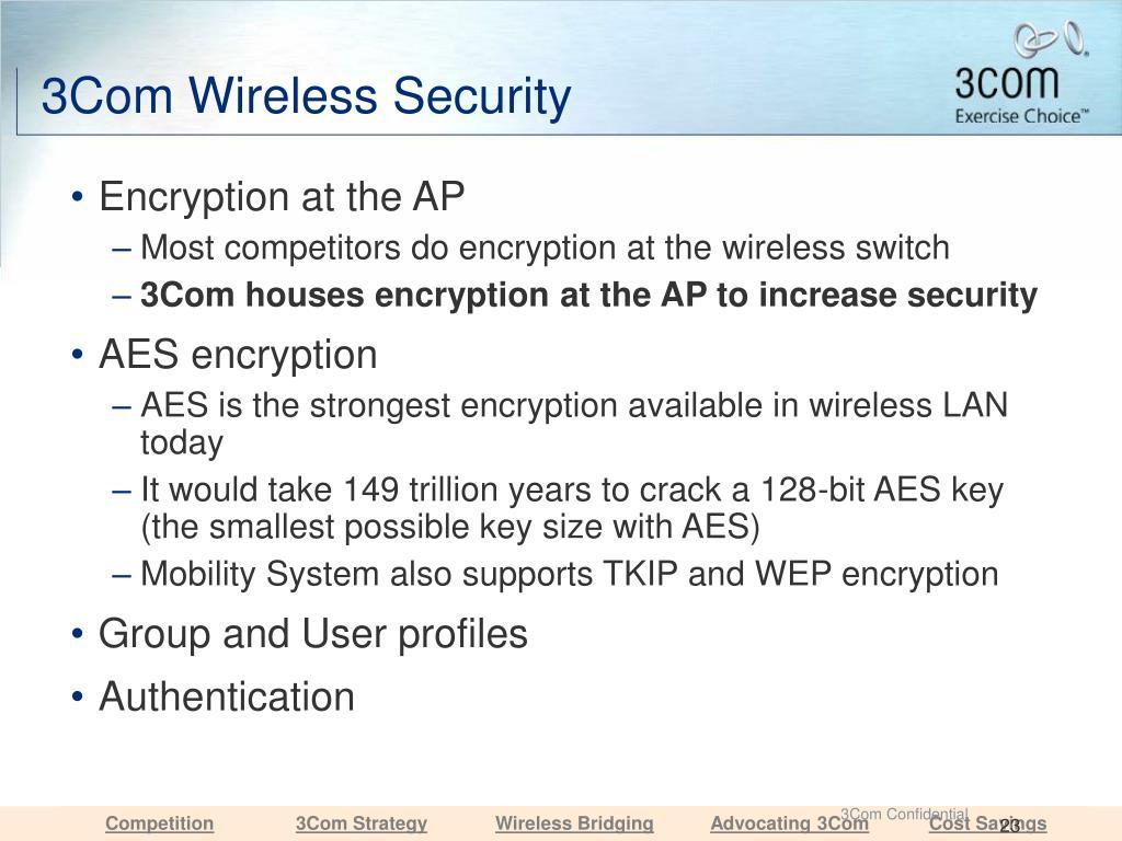 3Com Wireless Security