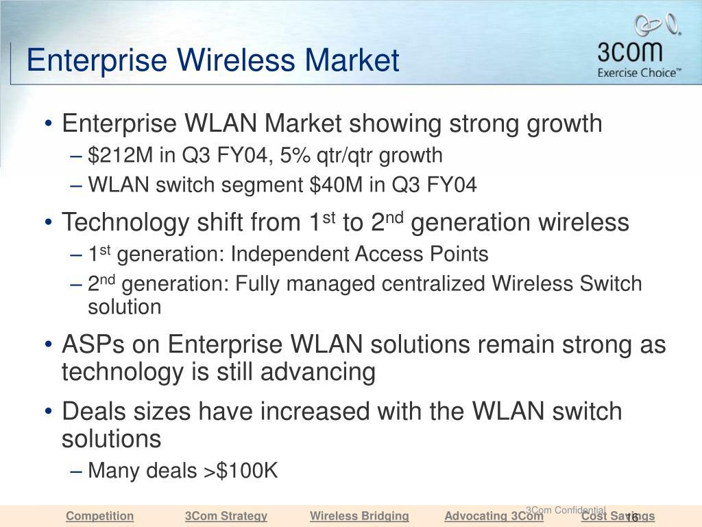 Enterprise Wireless Market